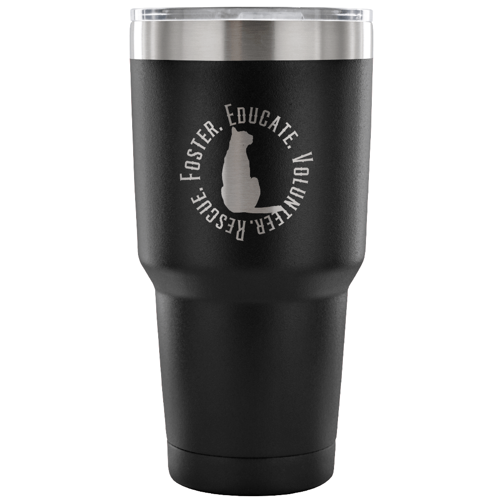 Cat Adoption Tumbler - Connected Clothing Company