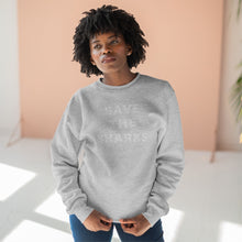 Load image into Gallery viewer, Save The Sharks Crewneck Sweatshirt