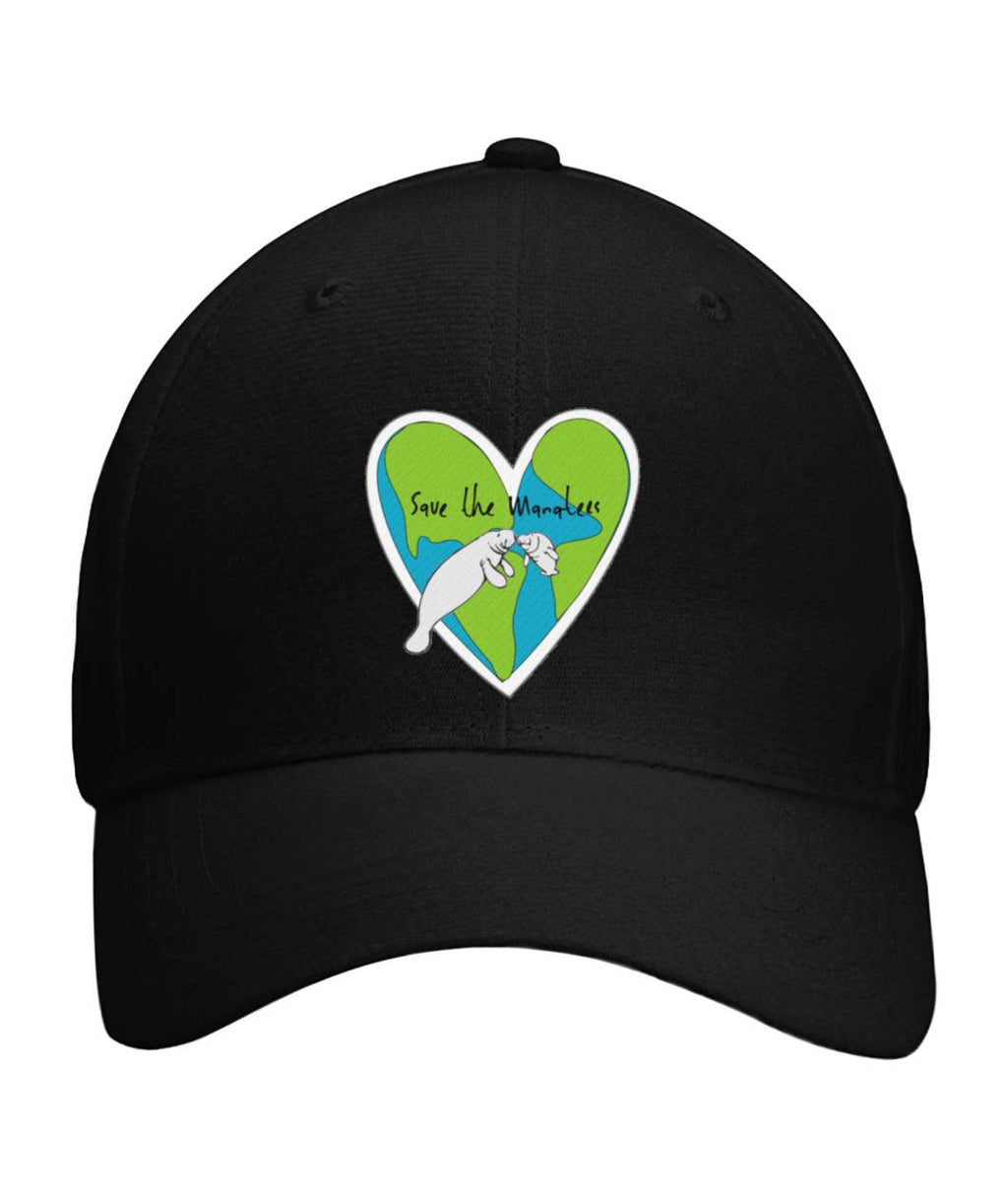 Save the Manatees Baseball Cap - Connected Clothing Company