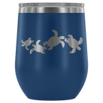 Sea Turtle Happy Hour Stemless Insulated Wine Tumbler - Connected Clothing Company