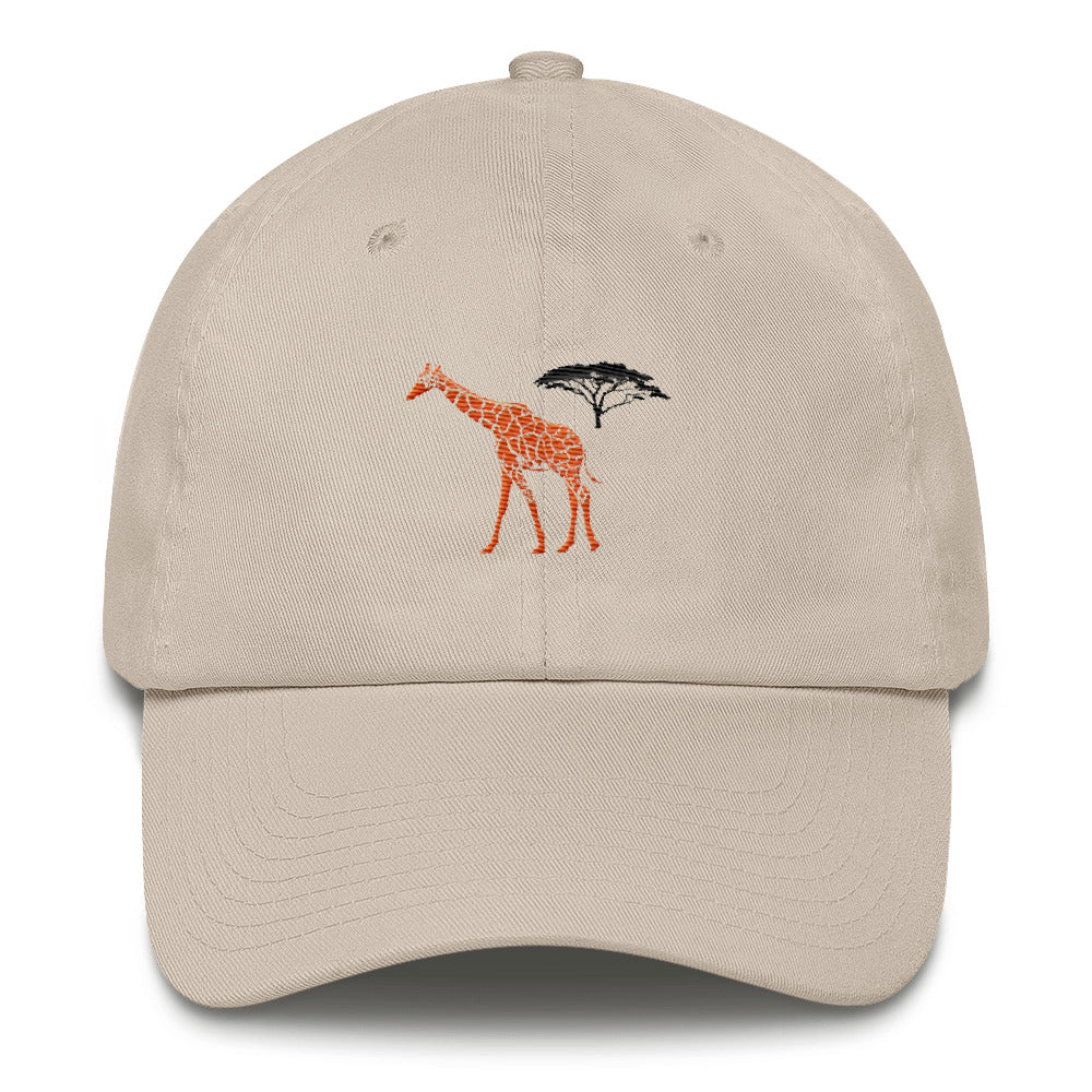 Giraffe Cotton Cap - Connected Clothing Company - 10% of profits donated