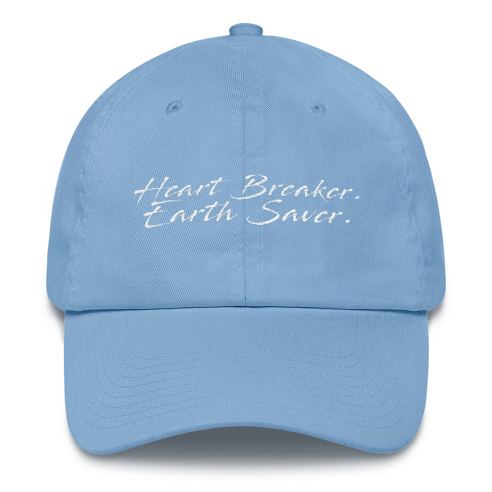 Heart Breaker. Earth Saver. Cotton Cap - Connected Clothing Company - 10% of profits donated