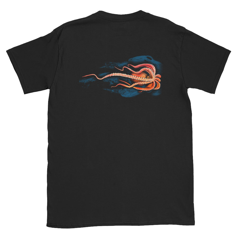 Octopus Unisex T-Shirt - Connected Clothing Company - 10% of profits donated