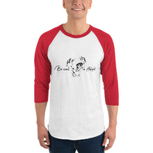 Load image into Gallery viewer, Be Cool Adopt 3/4 sleeve raglan shirt - Connected Clothing Company - 10% of profits donated