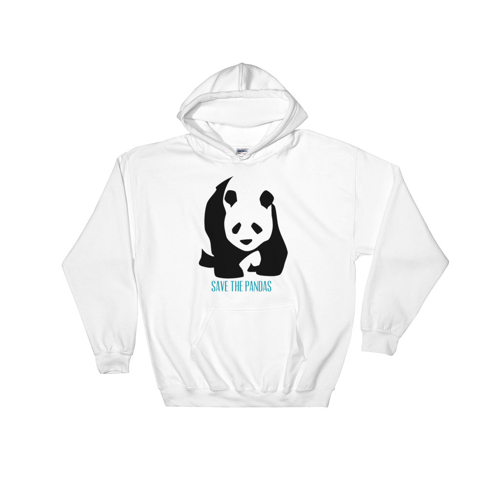 Save The Pandas Hooded Sweatshirt - Connected Clothing Company