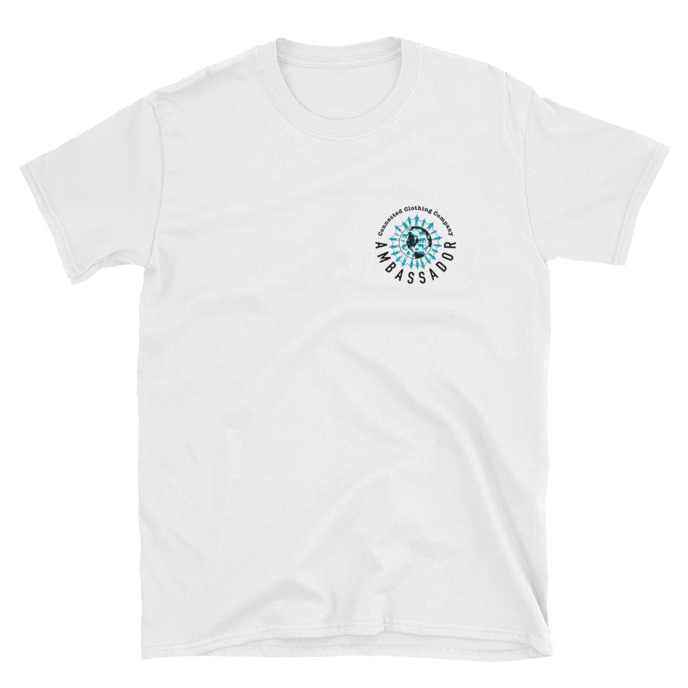 Ambassador Short-Sleeve Unisex Tee - Connected Clothing Company - 10% of profits donated