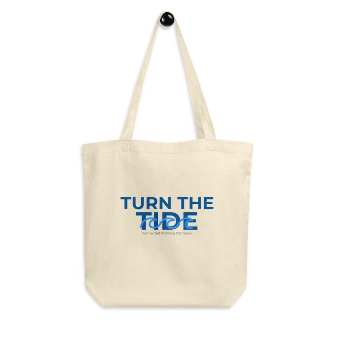 Turn The Tide Eco Tote - Connected Clothing Company - 10% donated to ocean conservation