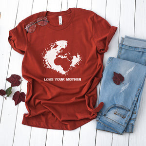 Love Your Mother Earth Short-Sleeve Tee - Connected Clothing Company