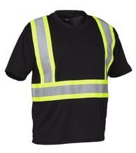 Reflective Black Hi Vis T-Shirt