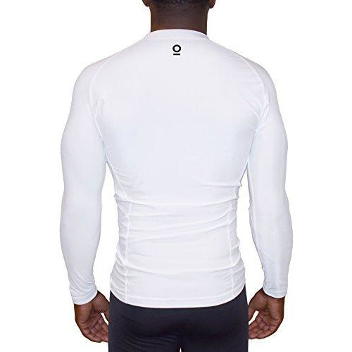 ALPHA I x Long Sleeve Rashguard Compression Shirt x UnderArm Mesh Cooling Panels