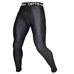 Athletic Compression Pants | Spats with Groin Mesh Cooling Panels - OPTIMAL HUMAN