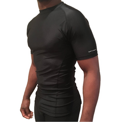 ALPHA II x Short Sleeve Rashguard Compression Shirt x UnderArm Mesh Cooling Panels