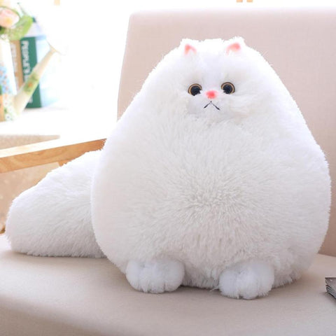 Fluffy Persian Cat Plush