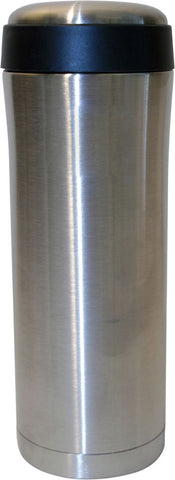 400ml Personal Flask - Silver