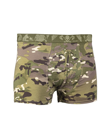 Boxer Shorts with Skull 2 Pack - Multitarn
