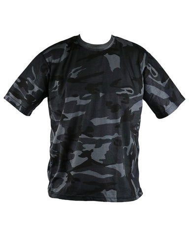 Kombat Midnight Blue Camouflage T-Shirt