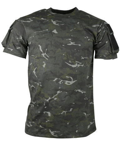 Kombat BTP Black Camouflage Tactical T-Shirt