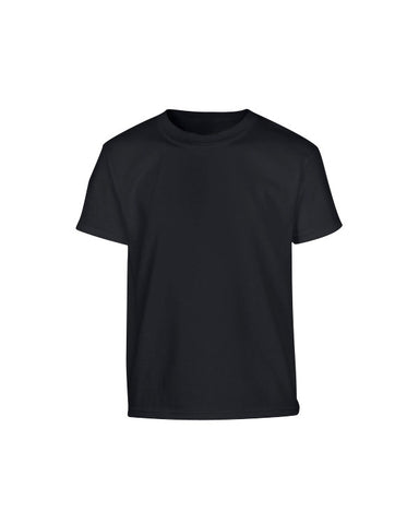 Kombat Kids Plain Military Style T-shirt - Black