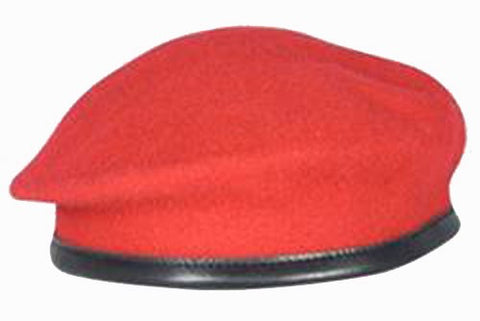Firmin Small Crown Beret - RMP Red
