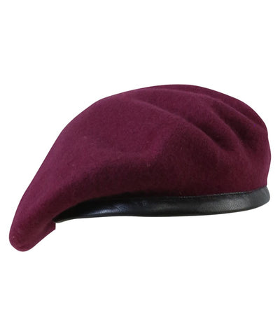 British Military Beret - Maroon
