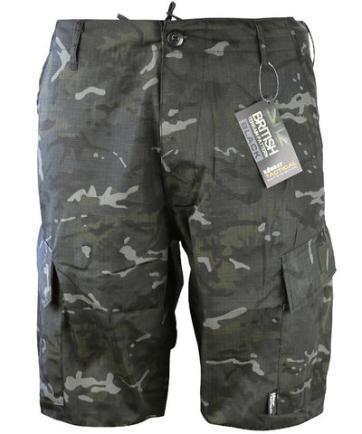 Kombat ACU Shorts - BTP Black