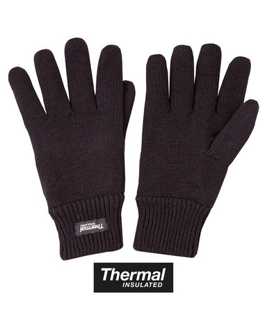 Kombat Thermal Gloves - Black