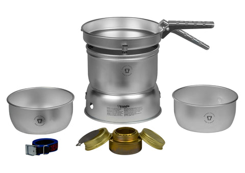 Trangia 27-1 Cooker - Alloy Pans