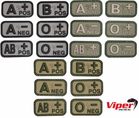 Viper Tactical Blood Group Patch