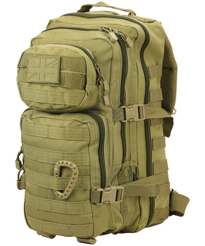 Kombat 28 Litre Small Assault Pack - Coyote Tan