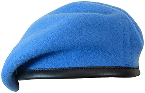 Firmin Small Crown Beret - United Nations Blue