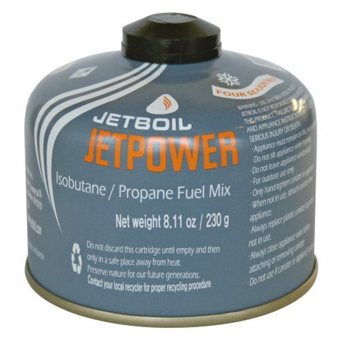 Jetboil Jetpower 230 gm fuel canister