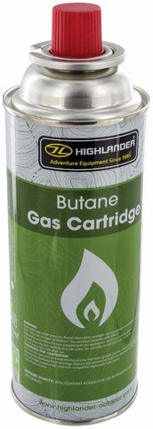 Highlander 227 gm Butane Gas Cartridge