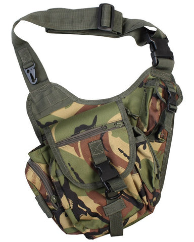 Kombat 7 Litre Tactical Shoulder Bag - DPM