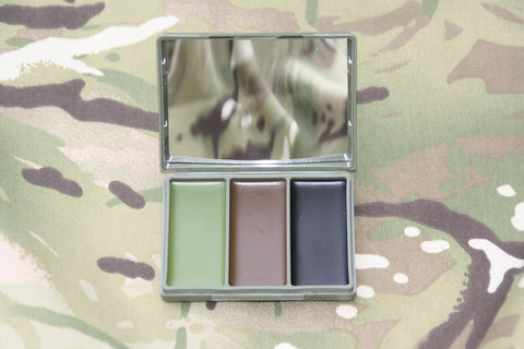 Caplock Camtech 3 Colour Camouflage Cream
