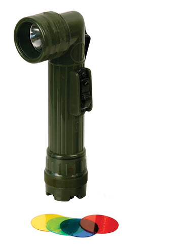 AA Cell Large Right Angle Torch