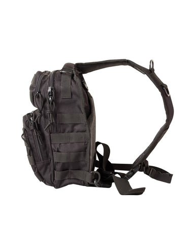 Kombat 10 Litre Mini MOLLE Shoulder Recon Pack - Black
