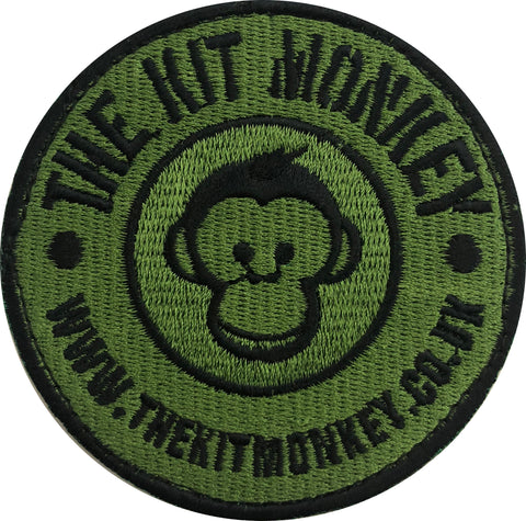 The Kit Monkey Green & Black Badge