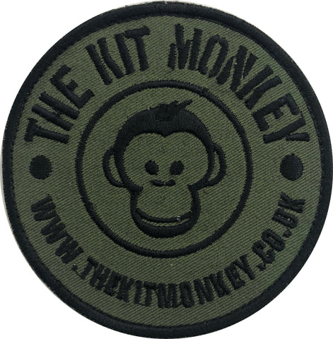 The Kit Monkey Subdued Badge