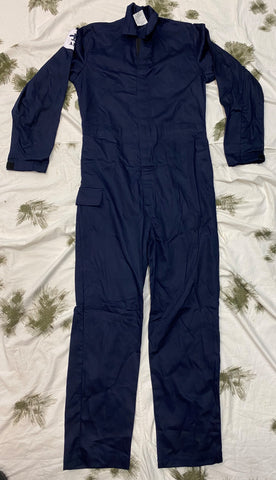 British Royal Navy Flame Resistant Coveralls - 100-104XT (9U)