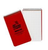 Modestone Top Spiral Waterproof Notebook 50 Sheets 76 x 130 mm
