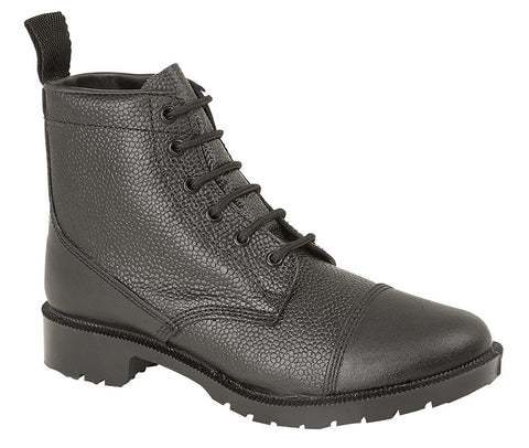 Classic British Military Style Parade Boots (7-12)