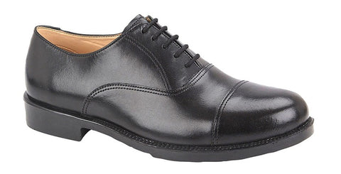 British Military Style Parade Shoes - MoD Sole (3-6)