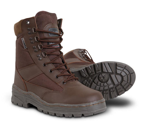 Kombat Half Leather Patrol Boots - MoD Brown (3-6)