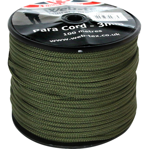 Web-tex Paracord - 100m