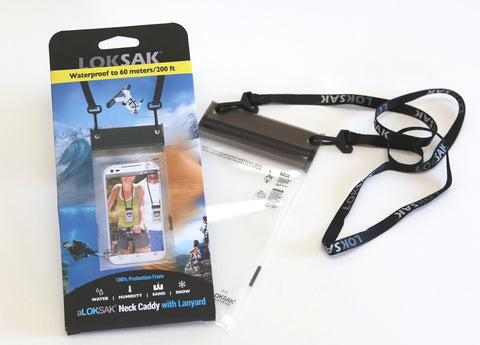 aLOKSAK Phone Caddy with Lanyard
