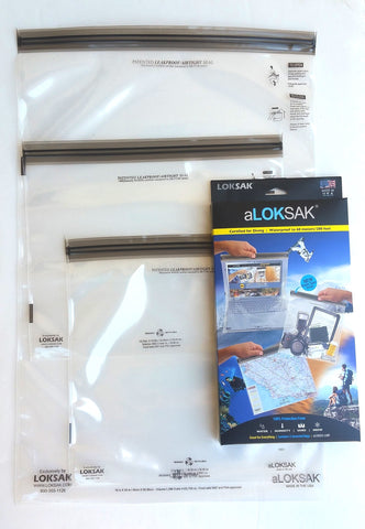 aLOKSAK Large Multi Pack (3 Pack)