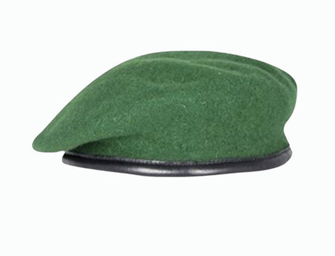 Firmin Small Crown Beret - AGC Green