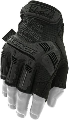 Mechanix M-Pact® Fingerless Gloves - Covert Black