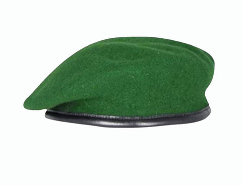 Firmin Small Crown Beret - Intelligence Corps Green