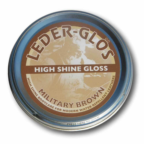 Alt-Berg Leder-Glӧs® - Military Brown - 80g